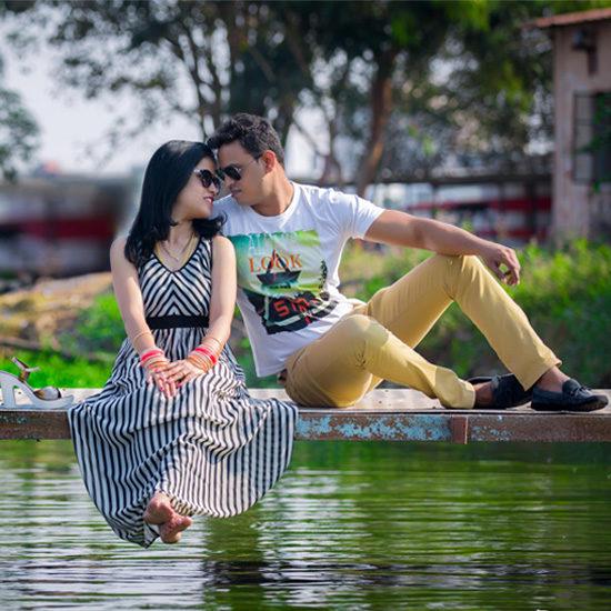 Post Wedding Photoshoot | Romantic Couple Photography | Vshoot